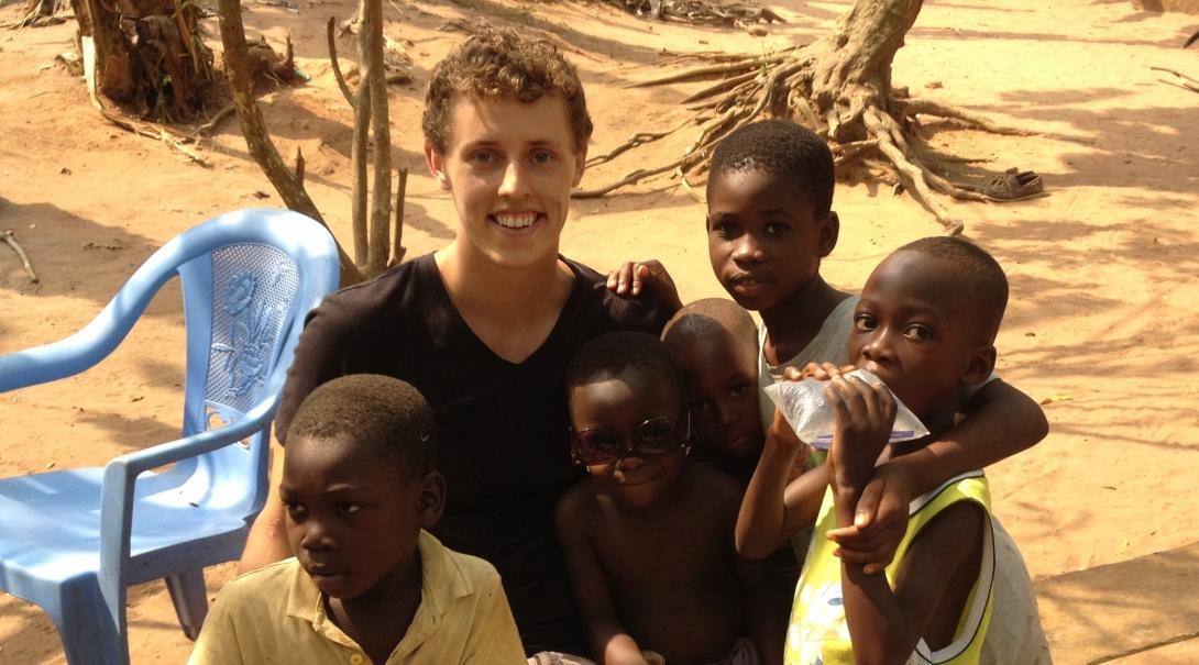 Matt F in Ghana